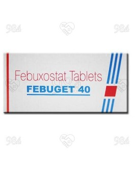 Febuget 40mg 100 Tablets, Sun