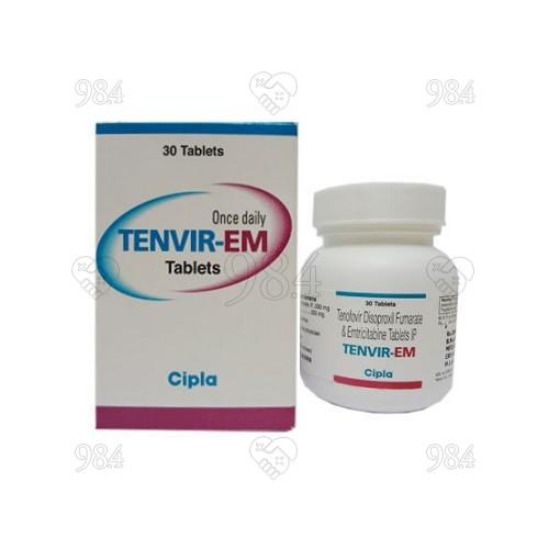 984degree_Tenvir-EM _Emtricitabine+Tenofovir disoproxil fumarate_30s