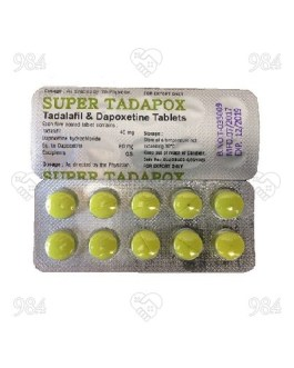 Super Tadapox 10s x 10 Tablets, RSM