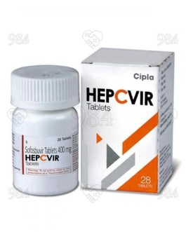 Hepcvir 400mg 28s Tablets, Hetero