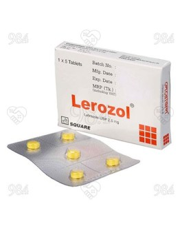 Letroz 2.5mg 5 Tablet, Sun