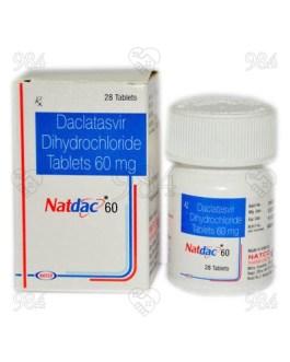 Natdac 60mg 28 Tablet, Natco