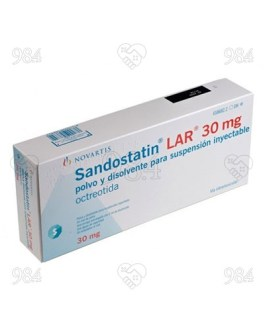Sandostatin LAR 30mg 1s Injection, Novartis