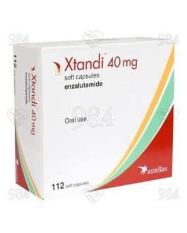 Xtandi 40mg 112 Capsule, Astellas