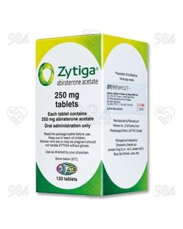 Zytiga 250mg 120 Tablet, Janssen