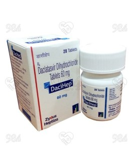 Dacihep 60mg 28s Tablets, Zydus