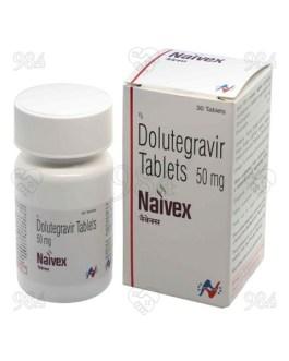 Naivex 50mg 30s Tablets, Hetero