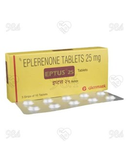 Eptus 25mg 30 Tablet, Glenmark