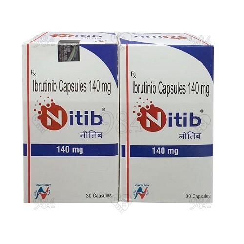Nitib-ibrtinib-140mg-hetero-30 capsules-500