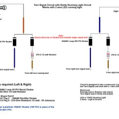 Wiring Diagram For Motorcycle Blinkers 1950 Ford Car Help Deamber Side Markers Page 2 986 Forum