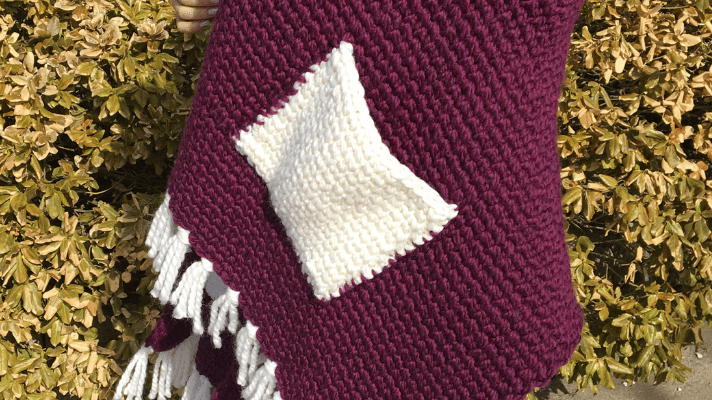 The Big Blanket Scarf Crochet Pattern You'll Adore