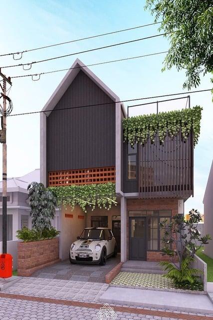Gambar Atap Rumah Minimalis : gambar, rumah, minimalis, Model, Rumah, Minimalis, Segitiga, Untuk, Hunian, Indonesia