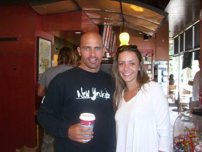 Famous Surfer Kelly Slater