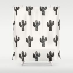 Beautiful Black And White Shower Curtains Design Ideas 04