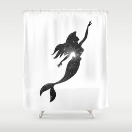 Beautiful Black And White Shower Curtains Design Ideas 23