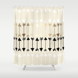 Beautiful Black And White Shower Curtains Design Ideas 94