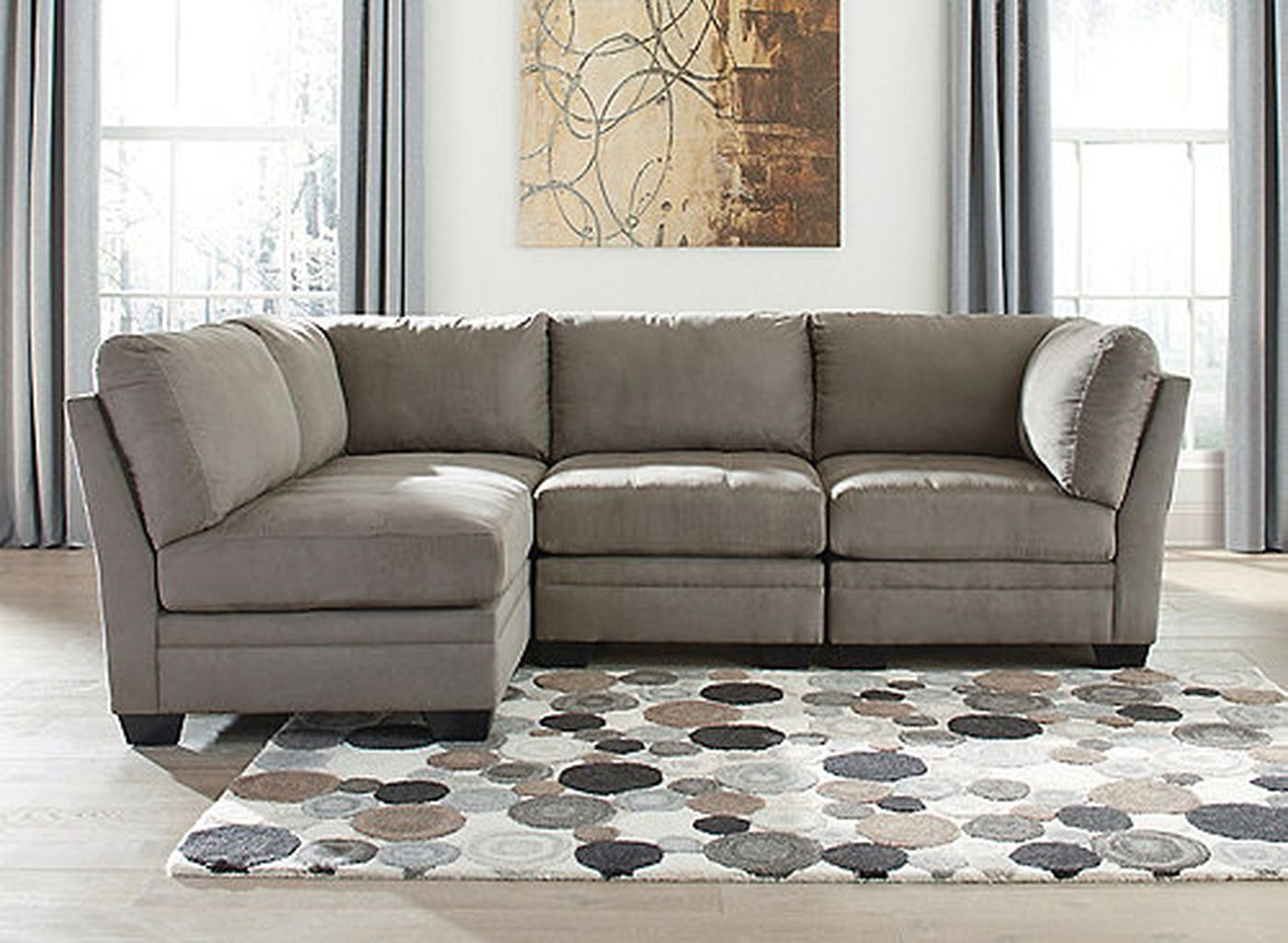Comfortable Ashley Sectional Sofa Ideas For Living Room 48