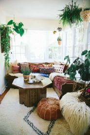 Comfy Boho Chic Style Bedroom Design Ideas 24