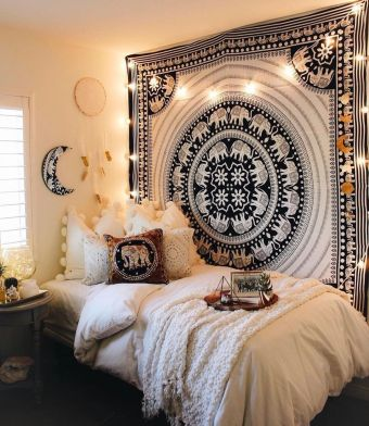 Comfy Boho Chic Style Bedroom Design Ideas 37
