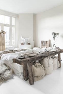 Comfy Boho Chic Style Bedroom Design Ideas 54