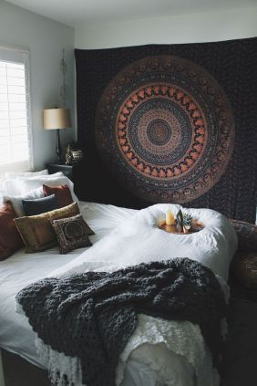 Comfy Boho Chic Style Bedroom Design Ideas 74