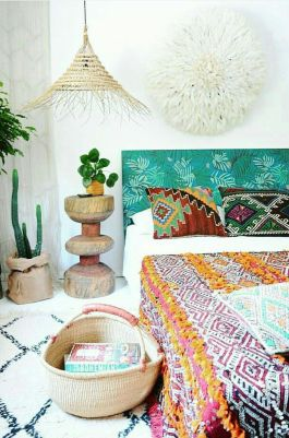 Comfy Boho Chic Style Bedroom Design Ideas 96