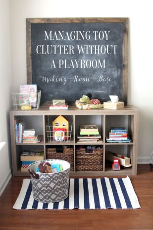 Creative Toy Storage Ideas for Small Spaces 57