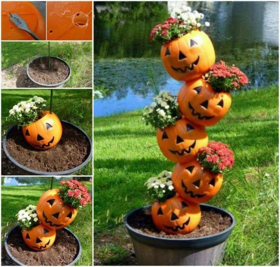 Easy But Inspiring Outdoor Fall Decoration Ideas 72