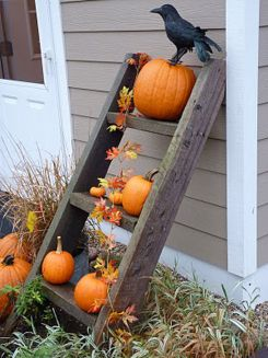 Easy But Inspiring Outdoor Fall Decoration Ideas 90