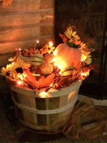 Easy But Inspiring Outdoor Fall Decoration Ideas 99