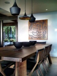 Inspiring Contemporary Style Decor Ideas For Dining Room 01