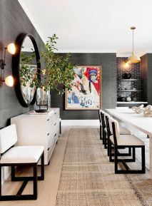 Inspiring Contemporary Style Decor Ideas For Dining Room 37