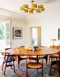 Inspiring Contemporary Style Decor Ideas For Dining Room 64