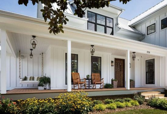 Modern Trends Farmhouse Exterior Paint Colors Ideas 2017 35