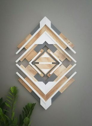 Modern And Minimalist Wall Art Decoration Ideas 63
