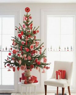 Space Saving Christmas Tree Ideas Suitable For Small Rooms 09