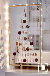 Space Saving Christmas Tree Ideas Suitable For Small Rooms 12