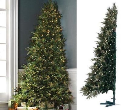 Space Saving Christmas Tree Ideas Suitable For Small Rooms 25