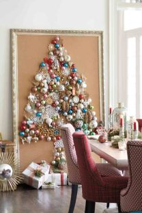 Space Saving Christmas Tree Ideas Suitable For Small Rooms 51