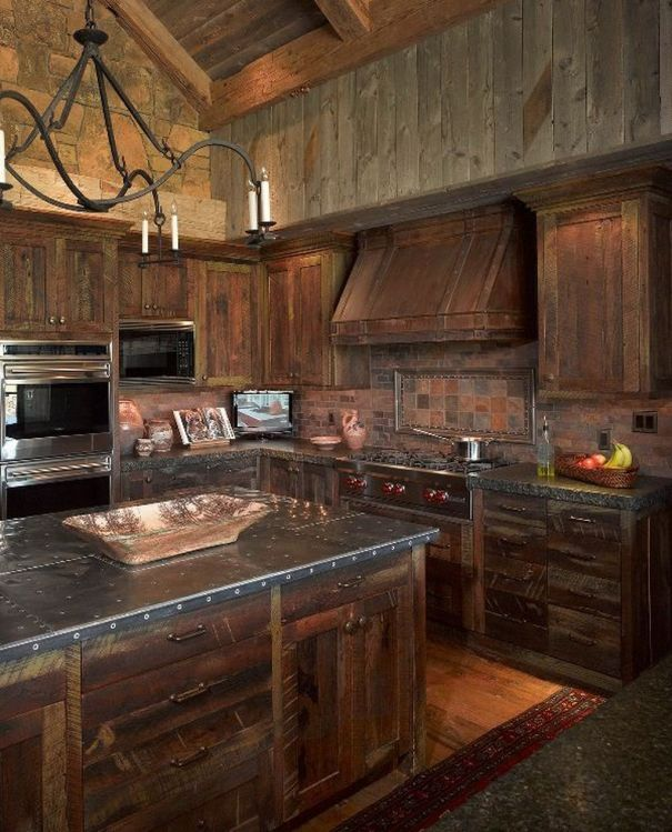 Beautiful Farmhouse Style Rustic Kitchen Cabinet Decoration Ideas 02