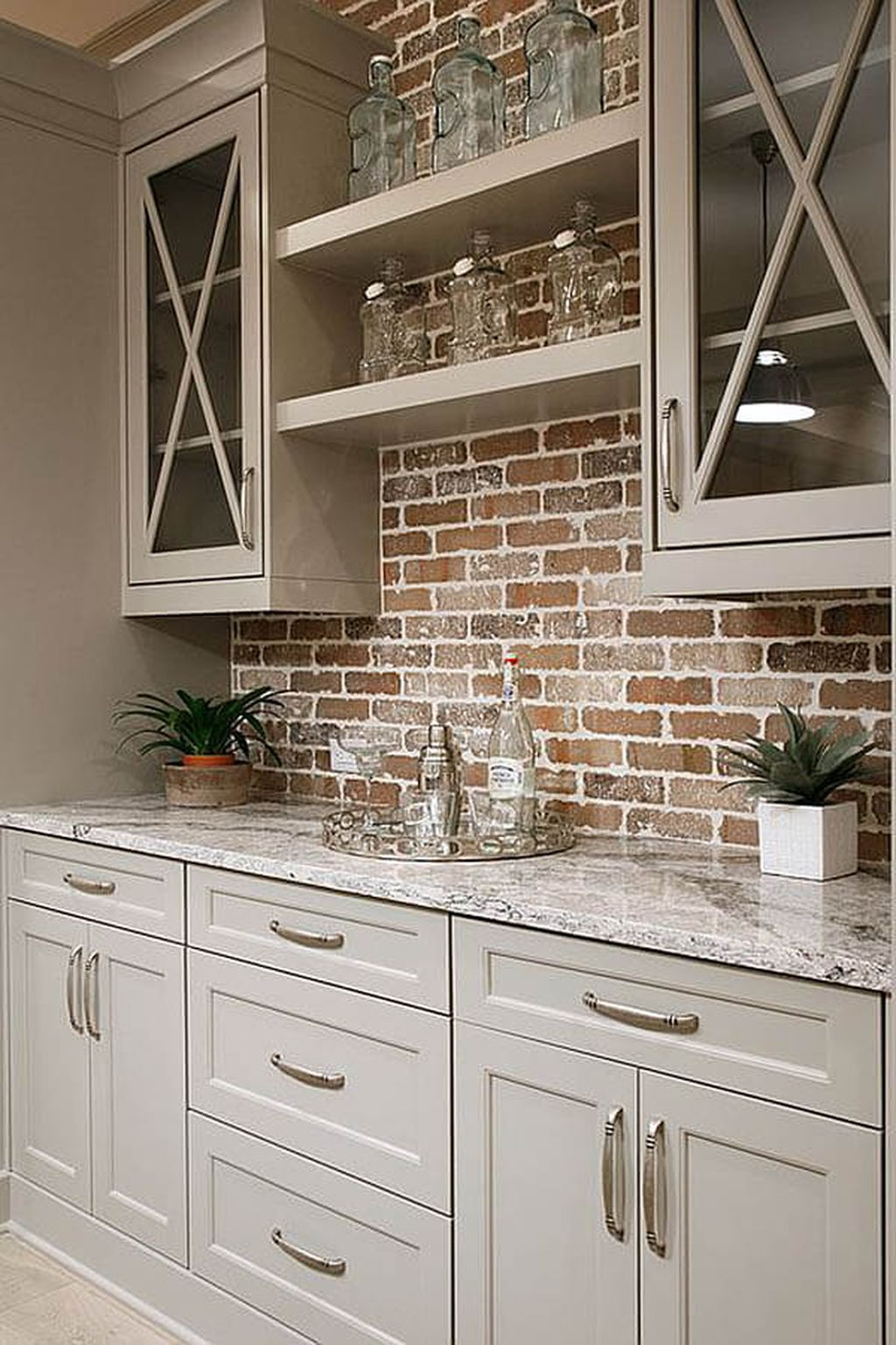 Beautiful Farmhouse Style Rustic Kitchen Cabinet Decoration Ideas 03