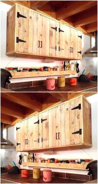 Beautiful Farmhouse Style Rustic Kitchen Cabinet Decoration Ideas 04