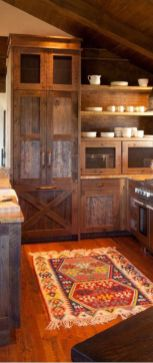 Beautiful Farmhouse Style Rustic Kitchen Cabinet Decoration Ideas 07