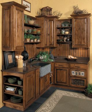 Beautiful Farmhouse Style Rustic Kitchen Cabinet Decoration Ideas 41