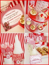 Beautiful Red Themed Kitchen Design Ideas For Christmas 25