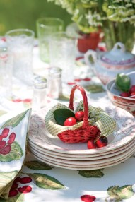 Beautiful Red Themed Kitchen Design Ideas For Christmas 32