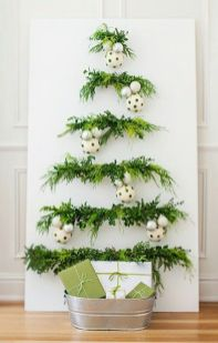 Easy And Creative DIY Christmas Tree Design Ideas You Can Try As Alternatives 13