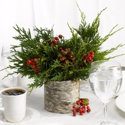 Elegant And Beautiful Tabletop Christmas Tree Centerpieces Ideas 12