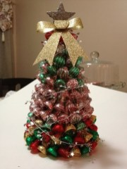 Elegant And Beautiful Tabletop Christmas Tree Centerpieces Ideas 21