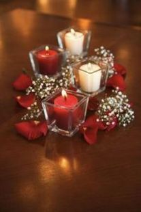 Inspiring Modern Rustic Christmas Centerpieces Ideas With Candles 15